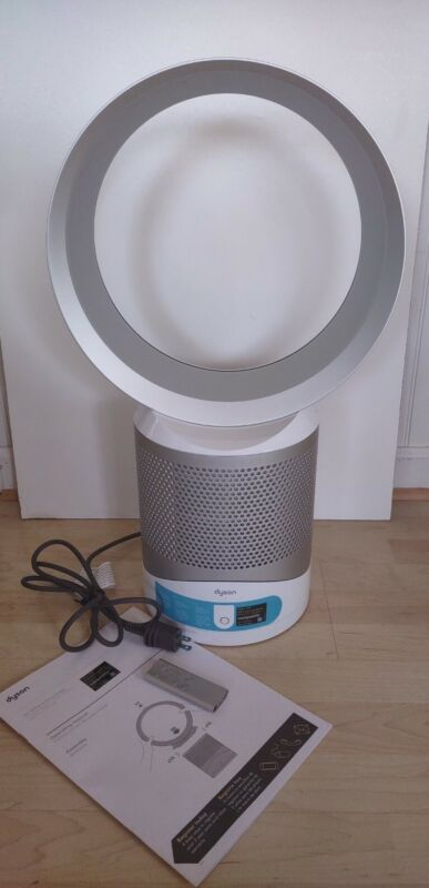 Dyson Pure Cool Link Air Purifier and Fan w/ Remote and instructions
