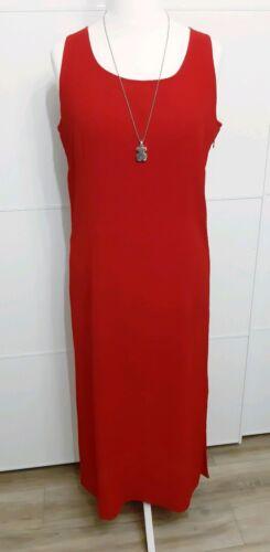 Tolles luftiges Kleid in Weinrot, UK Marke Support, Gr. 44 (XXL), Lang