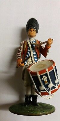 KING AND COUNTRY  1776  BRITISH ARMY .. SOLDIER DRUMMER (Unboxed..
