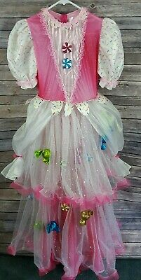 Chasing Fireflies Girls Candy Costume Fancy Dress Pink Sz 14 Cosplay Halloween ](Fireflies Halloween)