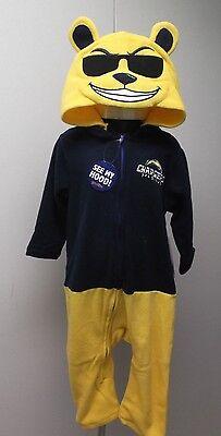 San Diego Kostüme (Mascotwear NFL San Diego Chargers I Kostüm Outfit Schlafanzüge Neu)