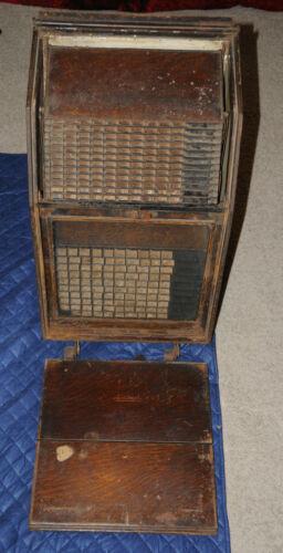 Rare Antique NCR National Cash Register Receipt File Box Ledger
