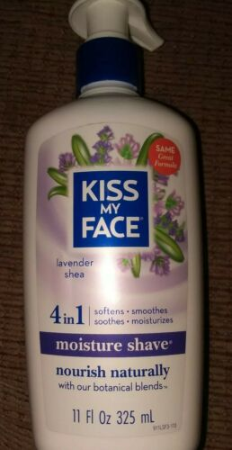 Kiss My Face - Lavender And Shea Moisture Shave, 11oz 4 in 1