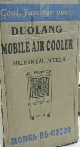 Evaporator Portable Air Conditioner Cooler 3 Speed Humidifier---(F0)