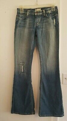 BKE Denim BKE 67 Element Stretch Distressed Jeans Flare Vintage in size 29X33.5