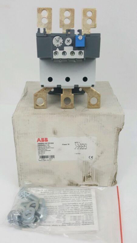 abb ta200du-110 Thermal Overload Relay 1saz42120r1002 class 10