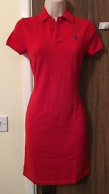 RALPH LAUREN Red 100% Cashmere Dress Size XSmall  RRP £475