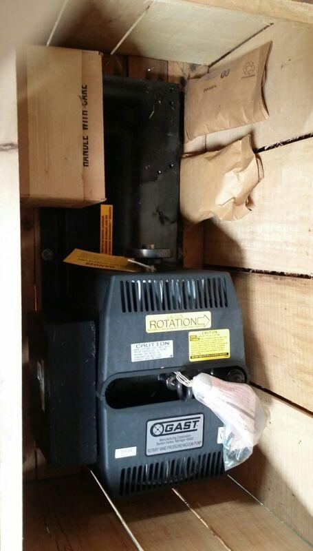 Gast Rotary Vane Pressure/Vacuum Pump Model 2080-V102 will help arrange shipping