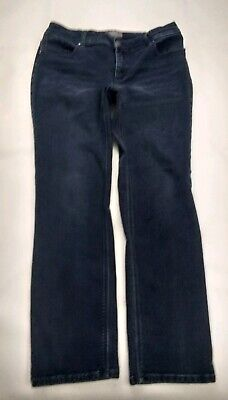Straight Leg Stretch Shorts (CHICOS Womans So Slimming Straight Leg Stretch Jeans Sz 1 Short )