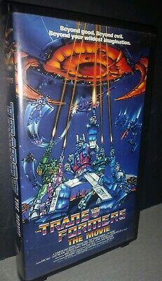 Vintage Transformers : The Movie - VHS - Kid Rhino