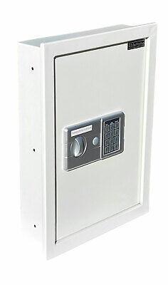 DIGITAL ELECTRONIC FLAT RECESSED WALL HIDDEN SAFE SECURITY BOX JEWELRY GUN CASH