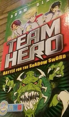 Adam Blade Team Hero - BATTLE FOR THE SHADOW SWORD New Book for sale  Caerphilly