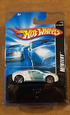 Hot Wheels 2007 Mystery Car Bugatti Veyron White