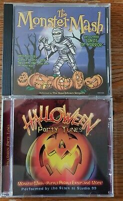 Halloween CD Lot Party Tunes 2011 and The Monster Mash 2001 - Halloween Cd Monster Mash