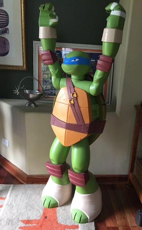 """Life Size Teenage Mutant Ninja Turtle approx 49"""" Tall Leonardo"""