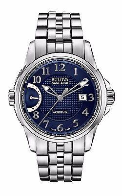 Bulova Accutron Men's 63B175 Accu Swiss Calibrator Blue Dial Dress Watch