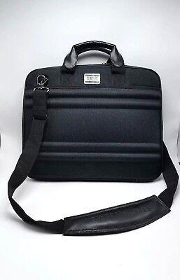 Zero Halliburton Black Nylon Hard Padded Laptop Case Bag Briefcase Strap (Zero Halliburton Nylon Briefcase)