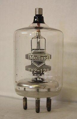 TY2-125 MULLARD LOGO NOS POWER TRIODE VALVE TUBE