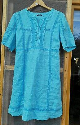 us Designer Kleid 100% Ramiefaser Chinaleinen  Gr. 38 40 42  (Elena Kleid)