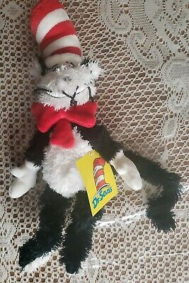 Dr. Seuss Cat in The Hat Soft Plush Toddler Toy Stuffed Manhattan Company - Cat In The Hat Toy