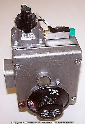 SP14270K Gas Thermostat Natural Gas White Rodgers Part 37C73U839 Rheem/Ruud