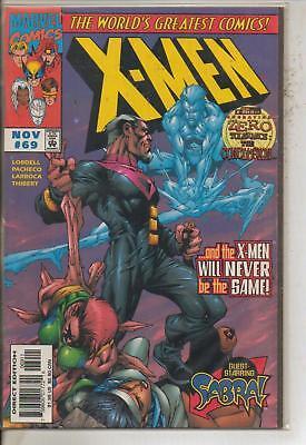 *** MARVEL COMICS X-MEN #69  VF ***