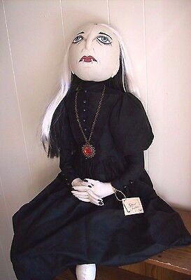 """Scarlet Vampire Lady"" Soft Figure designed by Joe Spencer for Gallerie II"