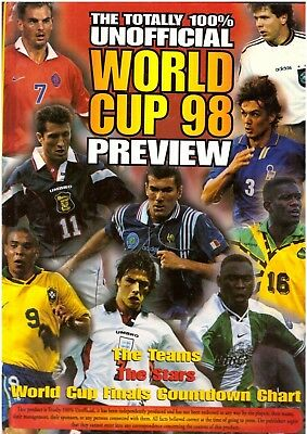 The Totally 100% Unofficial World Cup 98 Preview Annual