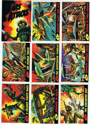 1994 Mars Attacks Archives by Topps. SINGLE CARDS $1 &$2 each + Discounts