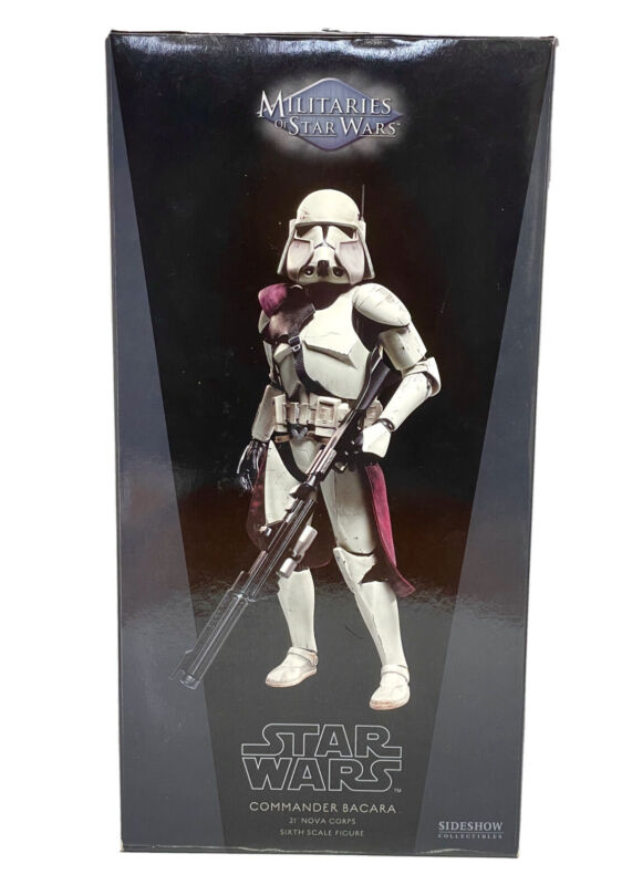 Sideshow Collectibles Exclusive COMMANDER BACARA 1/6 Scale Figure Star Wars