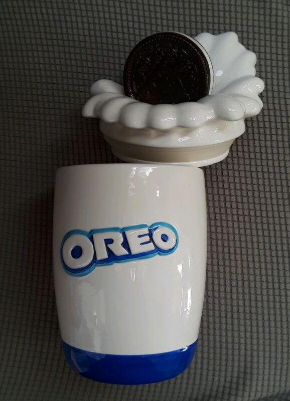 Rare OREO Cookie Jar ~ Numbered Limited Edition #308 of 482 ~ Hand Painted