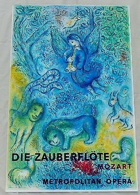 Original 1967 Marc Chagall Die Zauberflote Magic Flute Mourlot France Lithograph