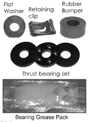 Fits Aeron Chair Pneumatic Gas Cylinder Bearing Repair Kit Ck-1