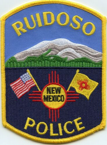 RUIDOSO NEW MEXICO NM Very Colorful POLICE PATCH
