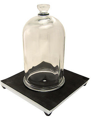 Nc-12891 Bell Jar And Vacuum Plate Combo 12 Gal Free Shipping Lower 48.