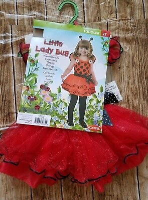 Liittle Lady Buy Costume Fancy Dress with wings and Head bands Toddler Sz 2T - Buy Fancy Dress Costumes