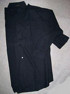 MOTORWAY-camicia-Manica-lunga-nera