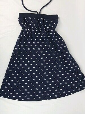 Strapless Terry (Victorias Secret University of PINK Dog French Terry Strapless Dress Sz XS)