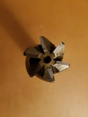 Niagara Tin Coated Roughing End Mill Cutter1-12dia 6fl 3 L.o.c Usa Made