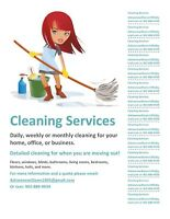 Do you need a clean house ?