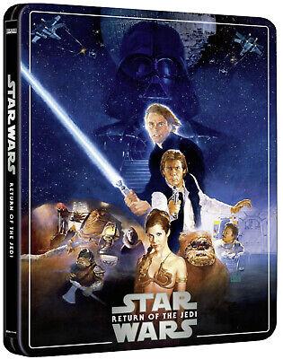 Star Wars: Episode VI - Return Of The Jedi 4K Ultra HD 3 Disc Steelbook