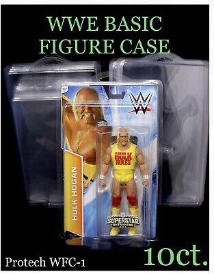 Mattel WWE Basic Figure Protective Case 10 Pack PROTECH WFC-1 Protector Defender
