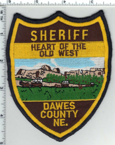 Dawes County Sheriff (Nebraska) Shoulder Patch - new from the 1980