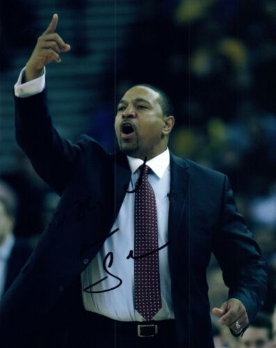 Mark Jackson Signed Autographed 8x10 Photo Coach Golden State Warriors COA