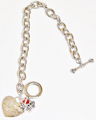 10 x Ed Hardy Christian Audigier 'Love Kills Slow' Bracelet Job Lot x10