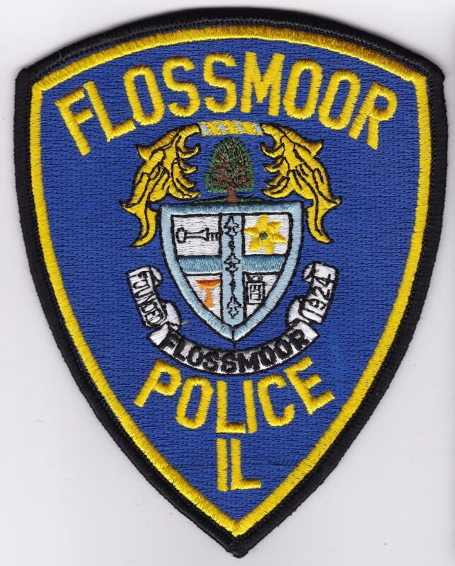 Flossmoor Police Patch Illinois IL NEW
