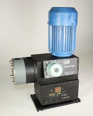 Used Siemens Elados Emp 1lf3053-4aj29-z 40270p10 Metering Pump Missing Cover I2