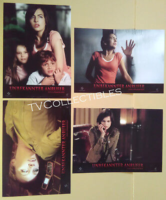 Lobby Card Lot~ WHEN A STRANGER CALLS  ~Camilla Belle~Katie Cassidy~Arthur Young