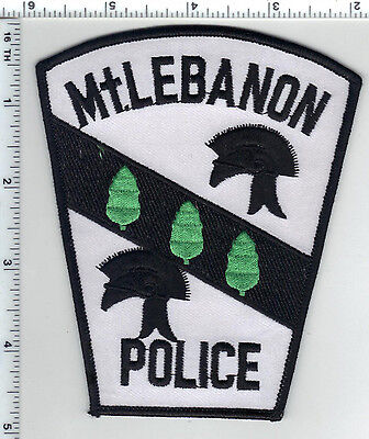Mt. Lebanon Police (Pennsylvania) Shirt/Jacket Patch from the 1980's image