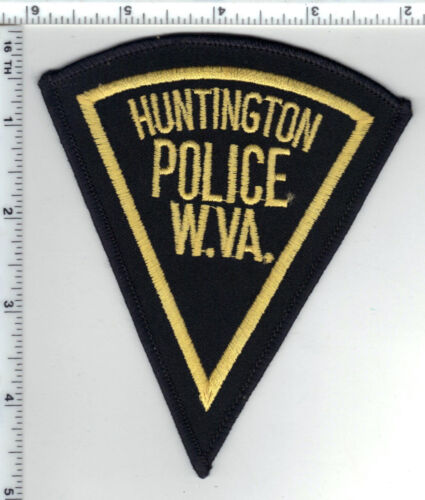 Huntington Police (West Virginia) 2nd Issue Shoulder Patch